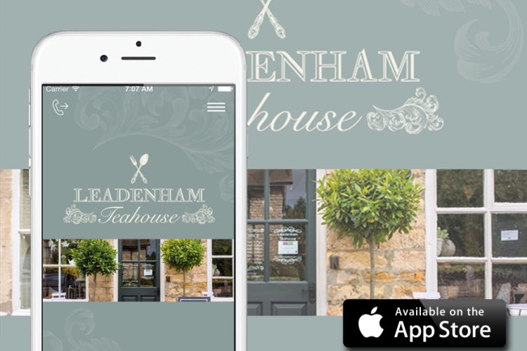 leadenham teahouse mobile app
