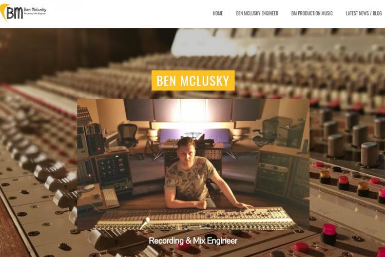 ben mclusky recording engineer