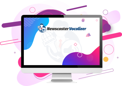 Newscaster voice creator software